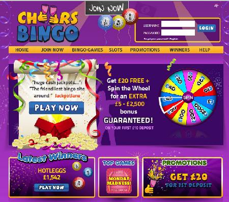 Cheers-Bingo-ScreenShort